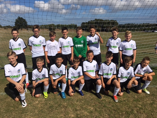 Match Report – DAFC Under 13's 4-1 Canterbury City