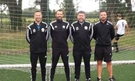 DAFC Under 16's Management Team