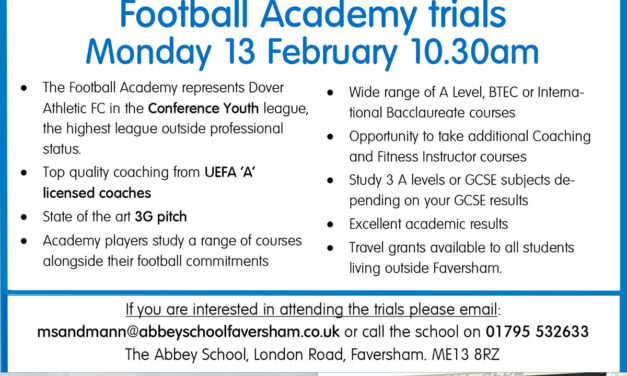 DAFC Academy Trials
