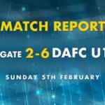 Match Report: Ramsgate 2-6 DAFC U14's