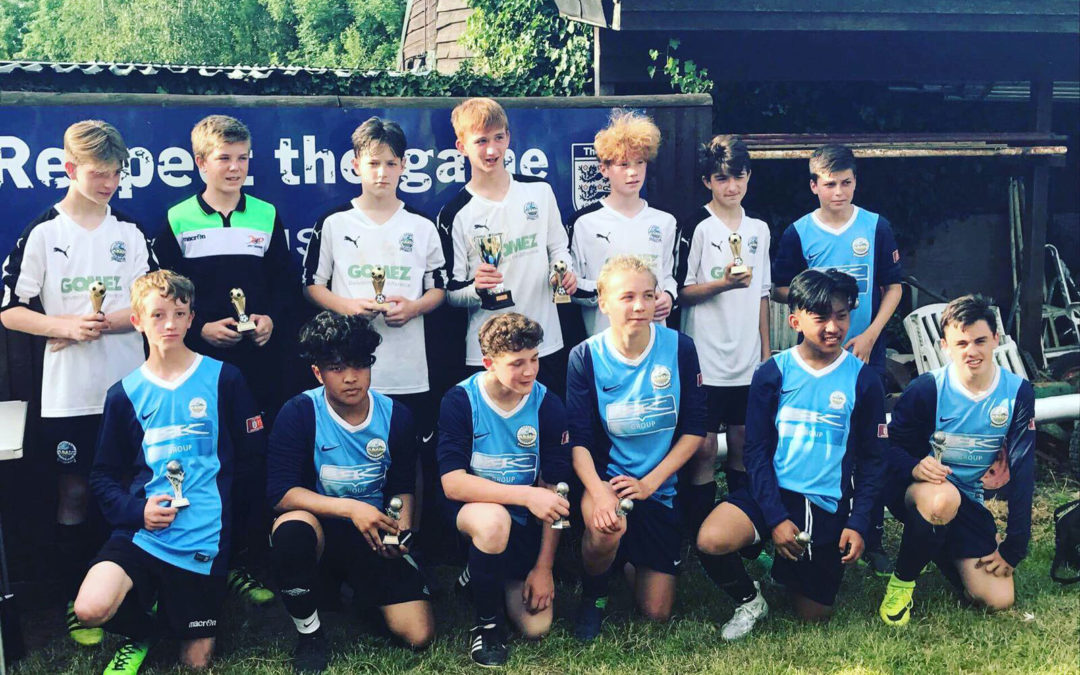 1st and 2nd place at Rusthall 6 Aside Tournament!