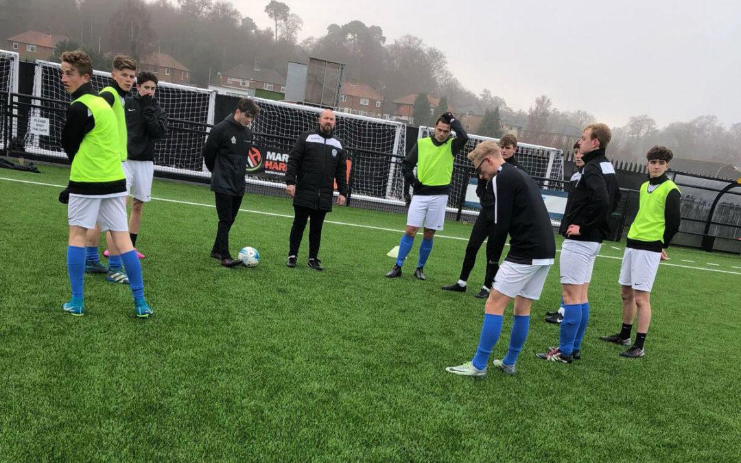 Sevenoaks Town 2-10 DAFC U18s